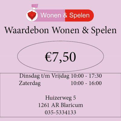 7,50-euro-waardebon