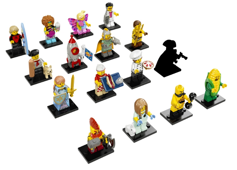 LEGO-Minifigures-Series-17-Complete-Set